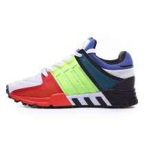 Adidas EQT Running Support 93 Primeknit Gold/Rot/Blau S81483