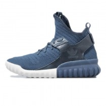 Adidas Originals Tubular X Premium Primeknit Mitternacht Marine/Benzin Tinte/Blau S81675