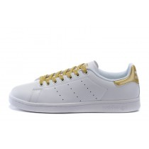Adidas Originals Stan Smith W Weiß/Gold S78545