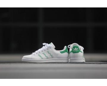 Adidas Originals Stan Smith Zig Zag Weiß/Grün S75139