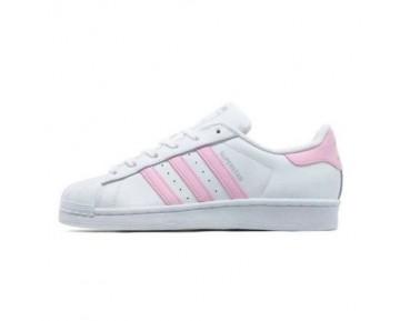 Adidas Originals Superstar Frauen Weiß/Baby Rosa BA7683