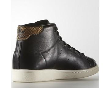 Adidas Stan Smith Mid Kern Schwarz/Kern Schwarz/Kreide Weiß S77452