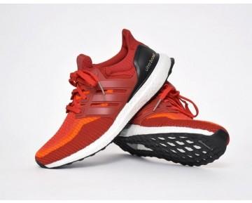 2016 Adidas Ultra Boost Solar Rot/Leistung Rot/Kern Schwarz AQ4006