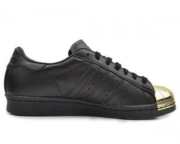 Adidas Originals Superstar 80s Metal Toe Schwarz/Gold D67591