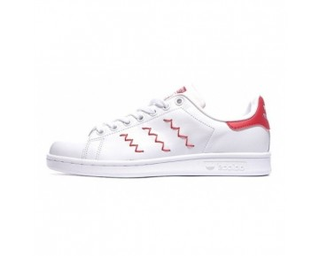 Adidas Originals Stan Smith Zig Zag Weiß/Rot S75138