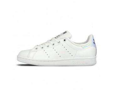 "Adidas Stan Smith Junior ""Hologram"" Schuhe Weiß/Metallic Silber AQ6272"