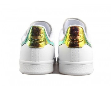 Adidas Stan Smith Weiß Glänzend/Metallic Gold AQ3009