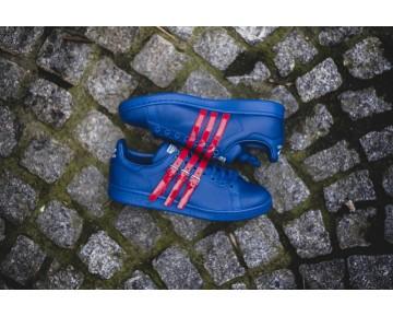 Adidas Stan Smith Strap x Raf Simons Königsblau/Königsblau/Leistung Rot AQ2723