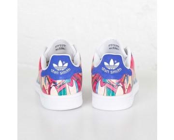 Adidas Stan Smith W Weiß/Labor Blau S32036