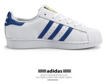 Adidas Superstar Foundation J Weiß-Blau S74944