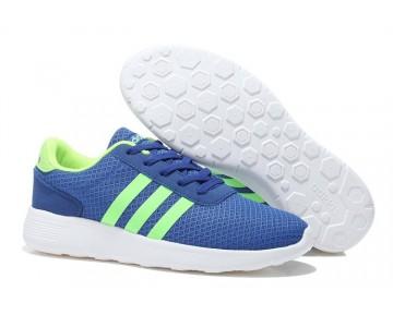 2015 Adidas Neo Lite Racer Spiel Royal/Neon-Grün