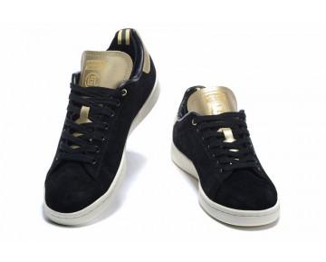 Adidas Consortium Stan Smith X Clot M22696 Schwarz/Kreide/Metallic Gold