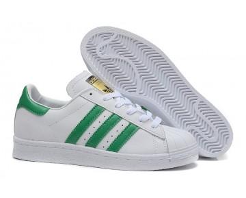 Adidas Originals Superstar 80s DELUXE Altweiß/Kollegial Grün/Weiß B35981