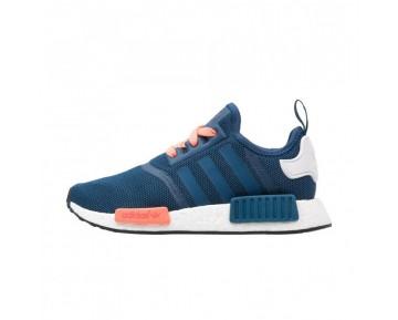 Adidas NMD R1 Runner J GS Blau/Pfirsich/Weiß S75339