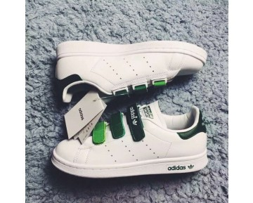 Adidas Stan Smith CF Weiß/Grün/Gradient AQ5356