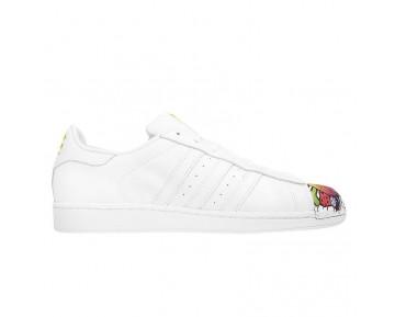 Adidas Originals Superstar MR Supershell Artwork Jungen Mädchen Herr Farbe Weiß/Weiß/Gelb S83354