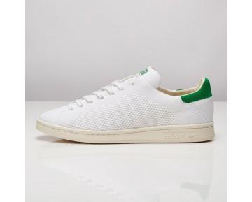 Adidas Stan Smith OG Primeknit Schuhe Kern Weiß/Kreide Weiß/Fairway S75146
