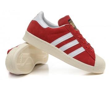 Adidas Originals Superstar 80s DELUXE Kollegial Bordeaux/Altweiß B25962