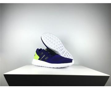 Adidas Y-3 Pure Primeknit Boost-ZG Kint Lila/Weiß/Gelb AQ5730