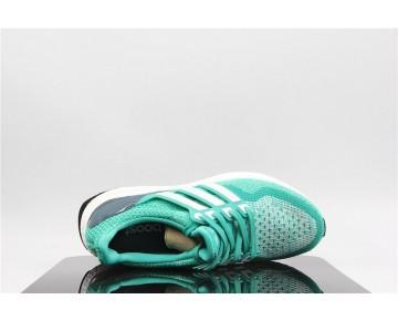 Adidas Ultra Boost Grün/Weiß AQ9953