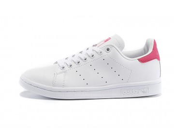 Damen/Herren Adidas Originals Stan Smith Schuhe Weiß/Rot D67363