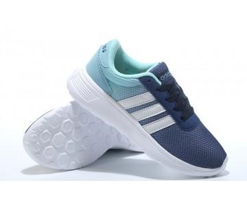 2016 Adidas Neo Damen Herren Running Schuhe Racer Blau/Weiß/Jade