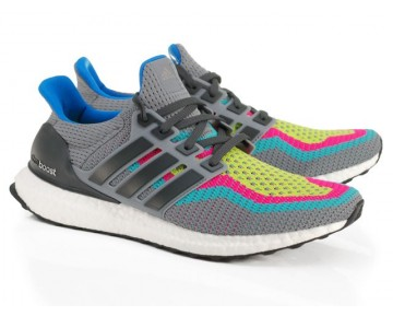 Adidas Ultra Boost M Multi Color kühles Grau AQ4003