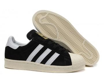 Adidas Originals Superstar 80s DELUXE Kern Schwarz/Vintage Weiß/Gold Metallic B25961