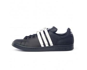 Adidas Stan Smith Strap x Raf Simons Kern Schwarz/Kern Schwarz/Altweiß S75801