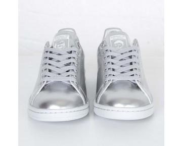 Adidas Raf Simons Stan Smith Silber Metallic/Weiß AQ2643