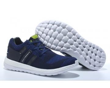 Adidas Y-3 Pure Primeknit Boost-ZG Kint Blau/Schwarz/Weiß AQ5733