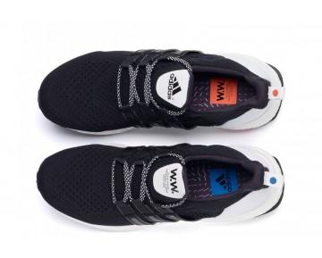 Wood Wood x Adidas Ultra Boost Schwarz/Weiß AF5778