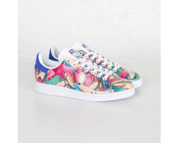 Adidas Stan Smith W Weiß/Labor Blau S32036