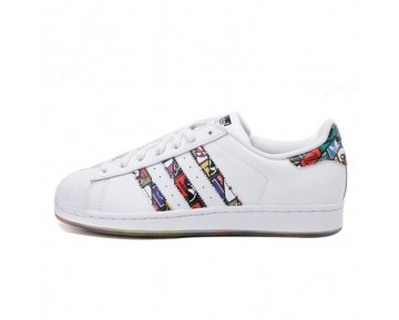 Adidas Originals Superstar LOGOS Weiß S79390