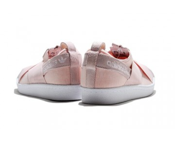 2016 Adidas Originals Superstar Slip On Rosa S76408