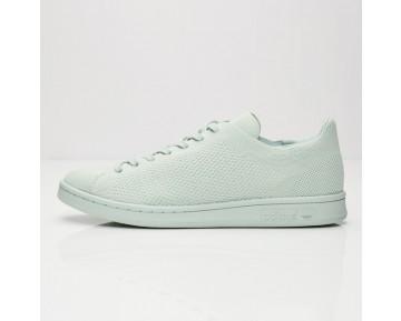 Adidas Originals Stan Smith Primeknit Schuhe Dampf Grün S80066
