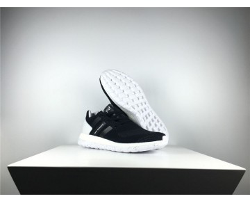 Adidas Y-3 Pure Primeknit Boost-ZG Kint Schwarz/Weiß/Grau AQ5729