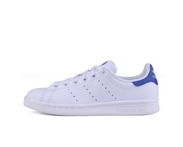 Adidas Originals Stan Smith J Weiß Blau S74778