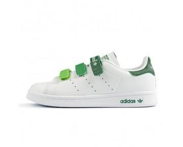 Adidas Stan Smith CF Weiß/Grün/Gradient AQ5356
