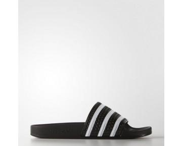 Adidas Originals Adilette Sandalen Schwarz/Weiß 280647