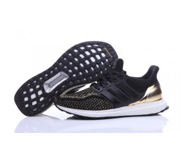 Adidas Ultra Boost X Continental Schwarz/Vergoldung AQ3301