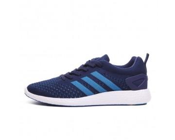 Adidas Primeknit Pure Boost Marine Blau