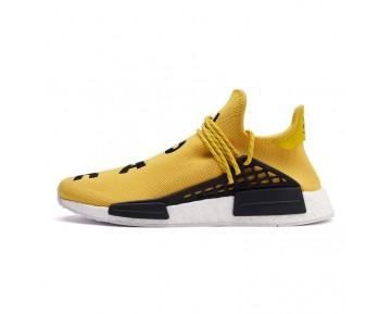 "Pharrell Williams x Adidas NMD ""Human Race"" Sammlung Ausrüstung Gelb/Schwarz/Schuhe Weiß BB0619"