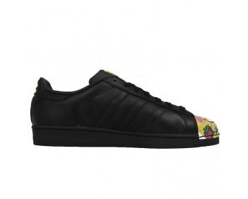 Adidas Originals Superstar MR Supershell Artwork Mädchen Schwein MR Kern Schwarz/Kern Schwarz/Gelb S83358