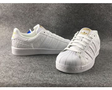 Adidas Originals Superstar Croc Weißes Gold AQ6686
