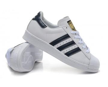Adidas Originals Superstar 80s DELUXE Altweiß/Kollegial Marine/Weiß B25964