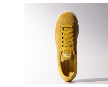 Adidas Originals Stan Smith Suede Gelb Weiß-Männer Retro-Turnschuhe M17923