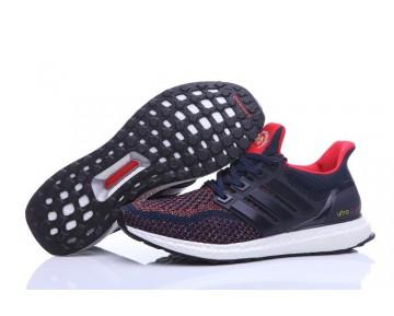 Adidas Ultra Boost X Continental Marine/Schwarz-üppigen/Rot AQ3305