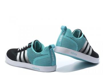 Adidas Neo Flyknit Damen Herren Laufschuhe Schwarz/Mint Grün/Silber