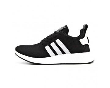 Adidas Originals NMD R2 Schwarz Weiß Mit Drei Weißen Streifen BB2953